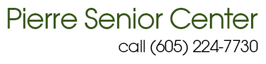 Pierre Senior Center logo